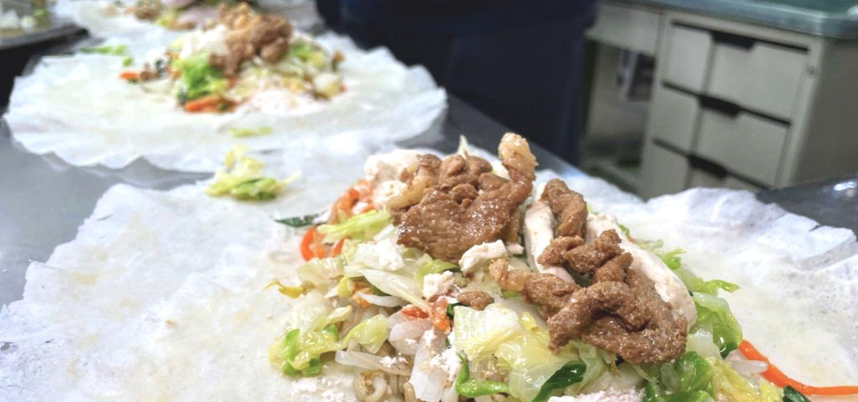 東市春捲魷魚 / 完美手法的春捲 / Q彈的川燙魷魚 / 嘉義東區