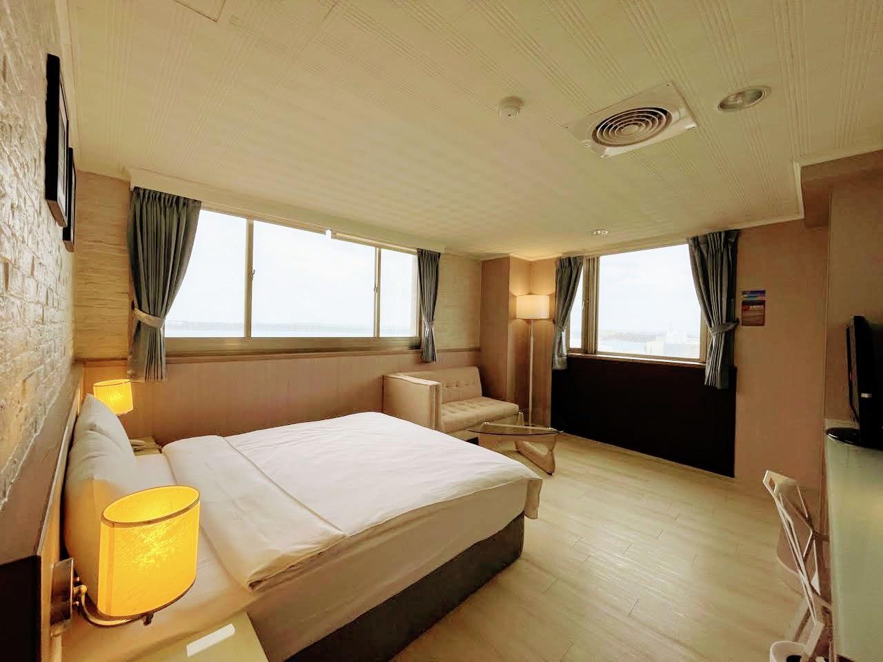澎湖和田大飯店。交通便利的海景飯店|樓下全家生活機能超方便