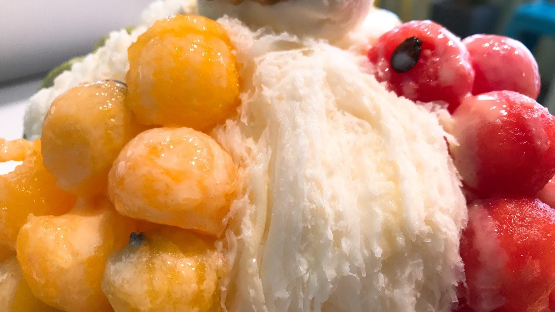 |双利冰饌研習所|Google評價4.5 顆星|雪花冰好看又好拍|透心涼的雪花冰配上特色冰棒 [台南 東區]