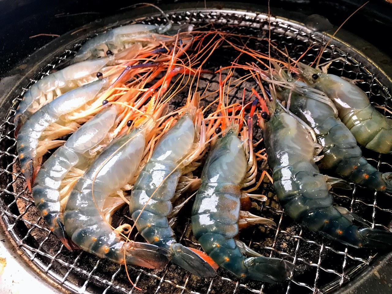 【台南|東區】 尖叫 SCREAM 精緻炭火燒肉 台南旗艦店|藍光蝦水道|燒肉吃到飽