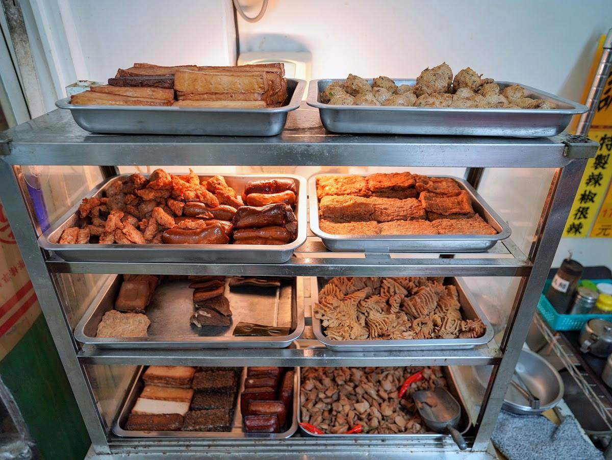 美英素食。澎湖北辰市場中的美味 地方媽媽的最愛