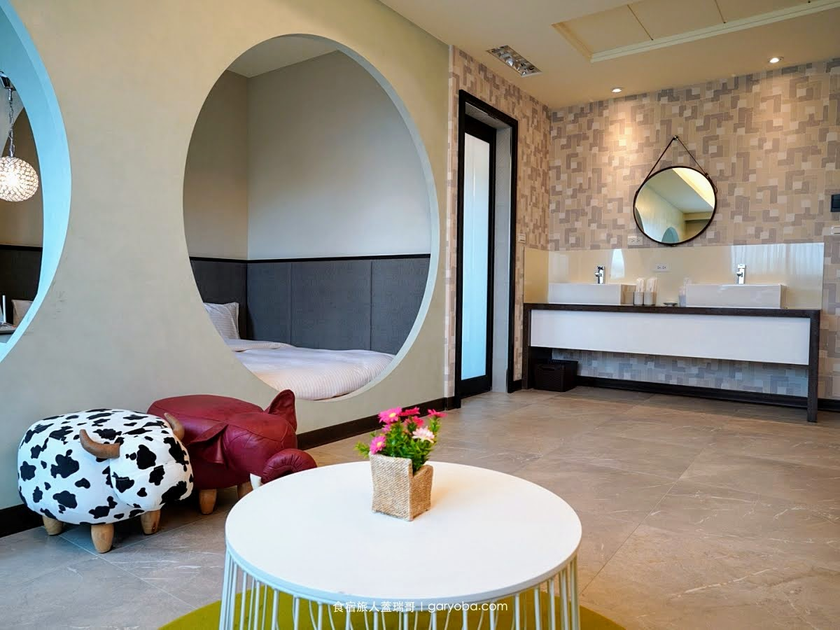 閒事別館。金門新開幕的精緻飯店|洞洞房是小朋友的最愛